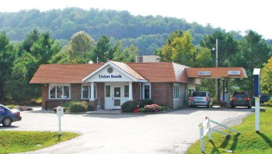 Union Bank branch on 103 VT Rte. 15 West in Hardwick, VT
