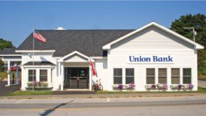 Union Bank branch on 135 Main Street in Lincoln, NH