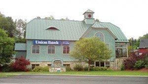 Union Bank branch on 183 Depot Street in Lyndonville, VT