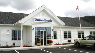 Union Bank branch on 15 Mapleville Depot in St. Albans, VT