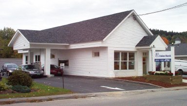 Union Bank branch on 325 Portland Street in St. Johnsbury, VT