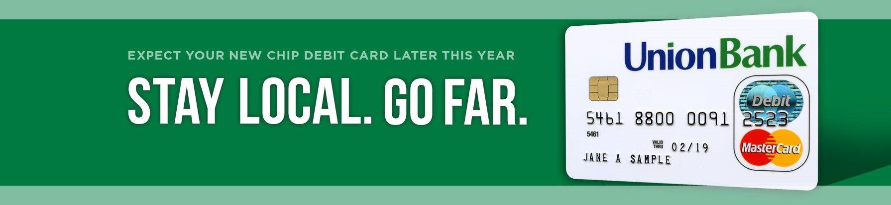 Chip Debit Cards