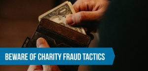Tips to avoid charity fraud