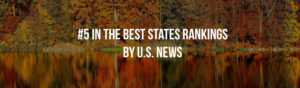 NH is #5 in the best states rankings by US news