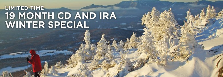 19 Month CD and IRA Winter Special