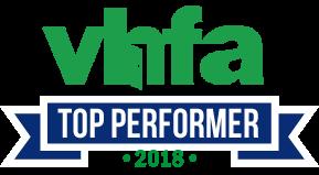 VHFA Top Performer