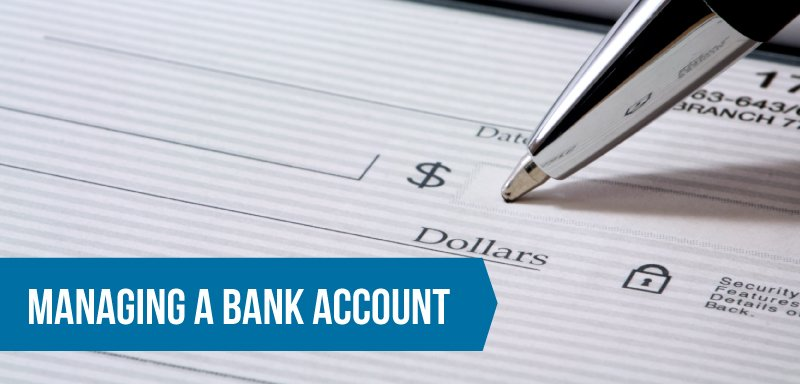 Managing a Bank Account
