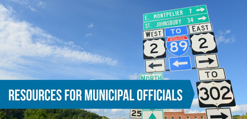 Resources for Municipal Officials