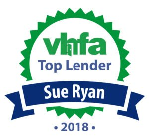 Sue Ryan Top VHFA Lender 2018
