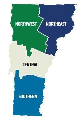 Regions of Vermont