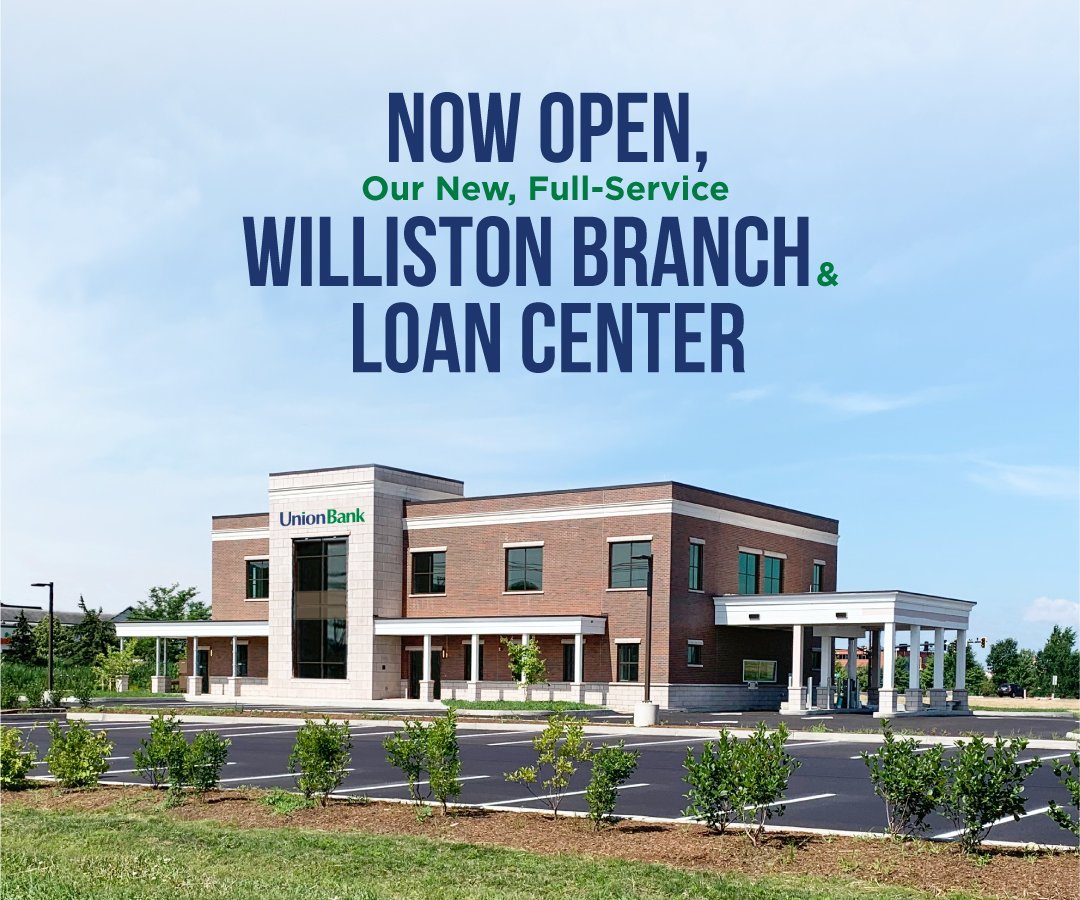 Williston branch and loan center now open