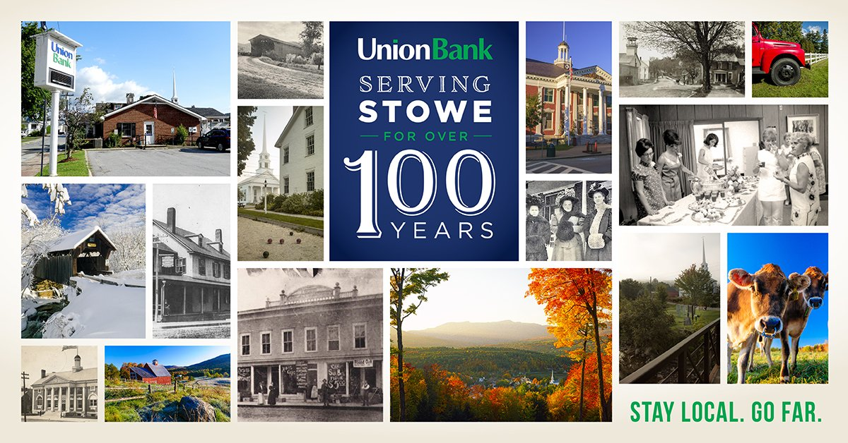 Serving Stowe for 100 Years