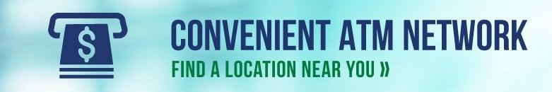 Convenient ATM locations