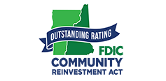 Outstanding Rating - FDIC Community Reinvestment Act
