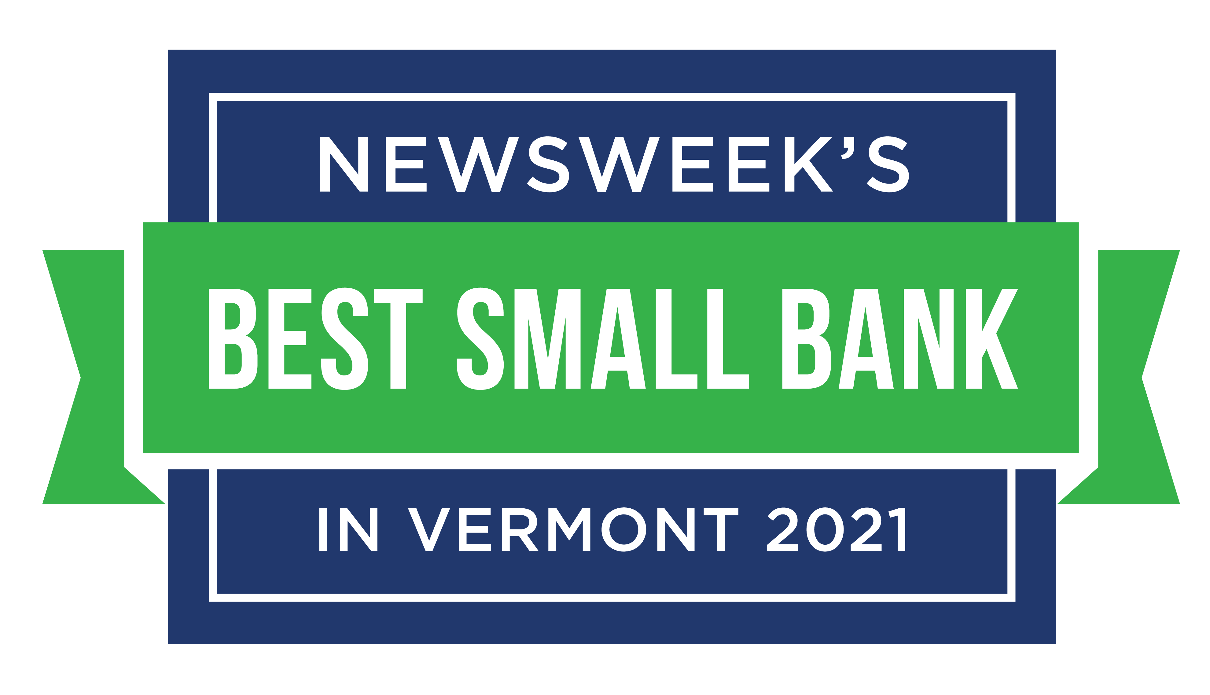 Best Small Bank in VT 2021